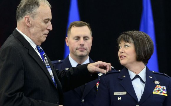 1st woman brigadier general in