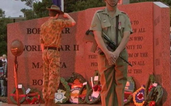 Anzac Day commemoration at