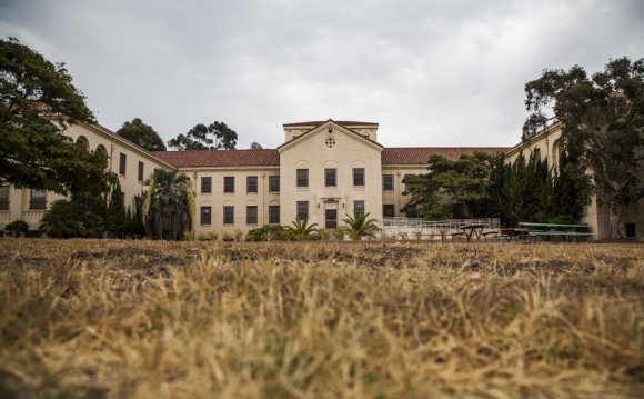 The 388-acre campus of the