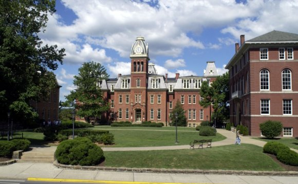 Woodburn hall at West Virginia