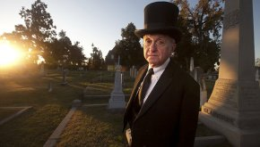 All Hallows Eve at Blandford Cemetery hiking journey