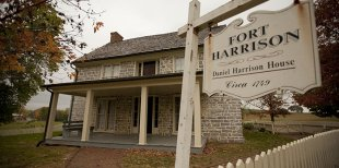 Daniel Harrison home (Fort Harrison)