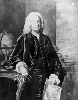 portrait of Arthur Dobbs
