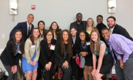 Scholars at UMD nationwide McNair Conference