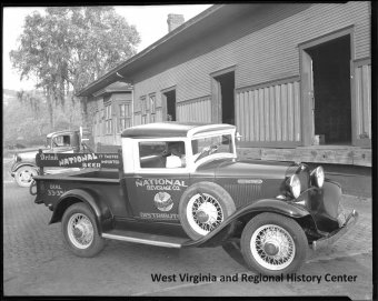 Vehicle associated with the nationwide Beverage business of Charleston, West Virginia