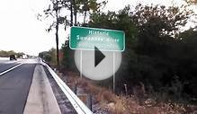 Historic Suwannee River Sign in Florida