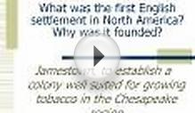What was the first English settlement in North America